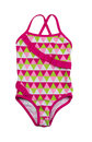 Kids swimsuit colorful fused isolate on white Stock Image