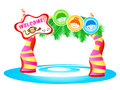 Kids Theme park Royalty Free Stock Photo