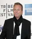 "Kiefer sutherland actor arrives on the red carpet for the premiere of ""the reluctant fundamentalist "" at the th annual tribeca Stock Image"