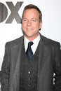 Kiefer sutherland arriving at the fox tv tca party at my place in los angeles ca on january Royalty Free Stock Image