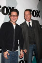 Kiefer sutherland jj abrams arriving at the fox tv tca party at my place in los angeles ca on january Stock Photography