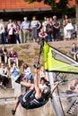 Kiel-Week-Ocean-Jump Stock Photo