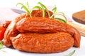 Kielbasa sausages Royalty Free Stock Photo