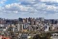 Kiev cityscape in spring Royalty Free Stock Photo