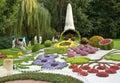 Kiev flowers festival Stock Photos