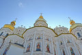 Kiev pechersk lavra dome on blue sky ukraine jul july in ukraine celebrates th anniversary of kyivan rus Royalty Free Stock Images