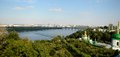 Kiev pechersk lavra kiev view from the hill on district ukraine Royalty Free Stock Image