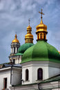 Kiev-Pechersk Lavra monastery in Kiev Royalty Free Stock Images