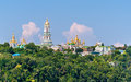 Kiev Pechersk Lavra Orthodox Monastery Royalty Free Stock Photos