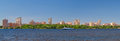 Kiev on river dnieper ukraine panorama of city Stock Photos