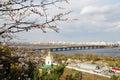 Kiev skyline Royalty Free Stock Image