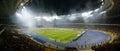 Kiev soccer arena, panorama Royalty Free Stock Photo