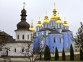 Kiev ukraine st michael cathedral in Royalty Free Stock Photography