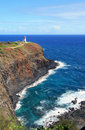 Kilauea lighthouse Royalty Free Stock Photos