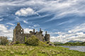 Kilchurn castle dalmally scotland july a ruined th century structure on the banks of loch awe in argyll and bute Stock Photo