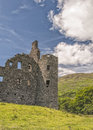 Kilchurn castle dalmally scotland july a ruined th century structure on the banks of loch awe in argyll and bute Royalty Free Stock Image