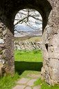 Kildalton church arch Royalty Free Stock Image