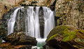 Kilgore falls second highest vertical waterfall maryland featured disney movie tuck everlasting located north baltimore rocks Stock Photography