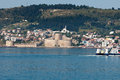 Kilitbahir castle in canakkale turkey the view from asia on europe Stock Images