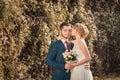 Kilka zdjęć romantyczny ślub sesji Zdjęcie Stock