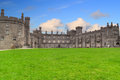 Kilkenny Castle and gardens Royalty Free Stock Images