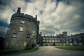 Kilkenny castle historic medieval in ireland Stock Images