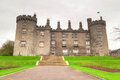 Kilkenny Castle in Ireland Stock Images