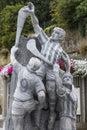 Hurling Statue in Kilkenny Royalty Free Stock Photo