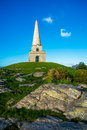 Killiney hill is the southernmost of the two hills which form the southern boundary of dublin bay the other being dalkey Royalty Free Stock Image