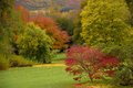 Kilruddery House & gardens. Autumn. Ireland Royalty Free Stock Images