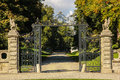 Kilruddery House & gardens. Entrance. Ireland Royalty Free Stock Photo