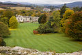 Kilruddery House & gardens. Panorama. Ireland Royalty Free Stock Photography