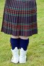 The kilt Royalty Free Stock Photo