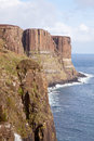Kilt Rock Cliff Royalty Free Stock Images