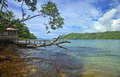 Kiluan bay Royalty Free Stock Photo