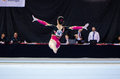 Kim bui ger anadia portugal june during the art gymnastics fig world cup challenge on june in anadia portugal Stock Photography