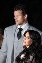 Kim Kardashian,Kris Humphries Royalty Free Stock Photo