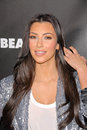 Kim kardashian at the launch event for fusionbeauty s infatuation lip gloss sephora hollywood ca Stock Images