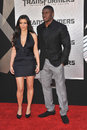 Kim Kardashian,Reggie Bush Stock Photo