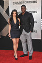 Kim Kardashian,Reggie Bush Royalty Free Stock Photo