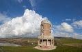 Kimmeridge bay and clavell tower dorset jurassic coast world heritage site england uk Royalty Free Stock Photography