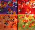 Kimono stuff texture Royalty Free Stock Photo