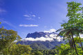 Kinabalu mountian kota mount borneo land below the wind Stock Image
