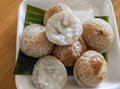 Kind of thai sweetmeat good delicious Royalty Free Stock Images