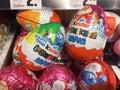 Kinder Surprise or Kinder egg maxi Royalty Free Stock Photo