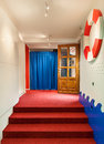 Kindergarten entrance interior of a details of Royalty Free Stock Photo