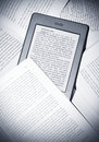 Kindle touch Royalty Free Stock Images