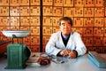 Kinesisk medicin Arkivbilder