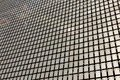 The kinetic facade of the building. Stainless steel metal plates Royalty Free Stock Photo