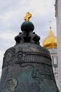 King bell tsar bell in moscow kremlin color photo unesco world heritage site Stock Photo